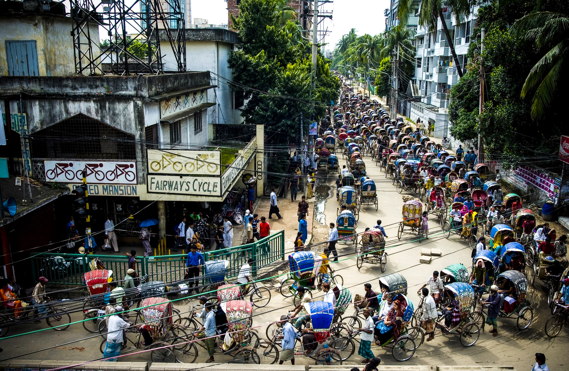 Traffic, Dhaka, Bangladesh