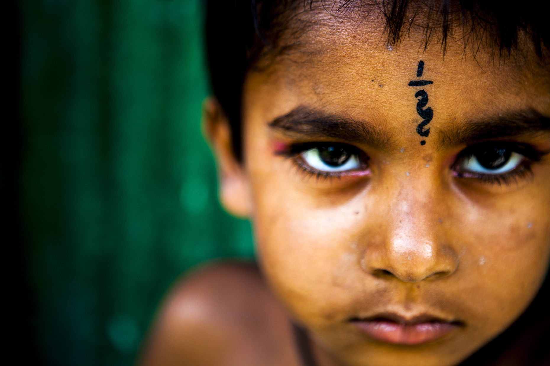 Child in rural Bangladesh