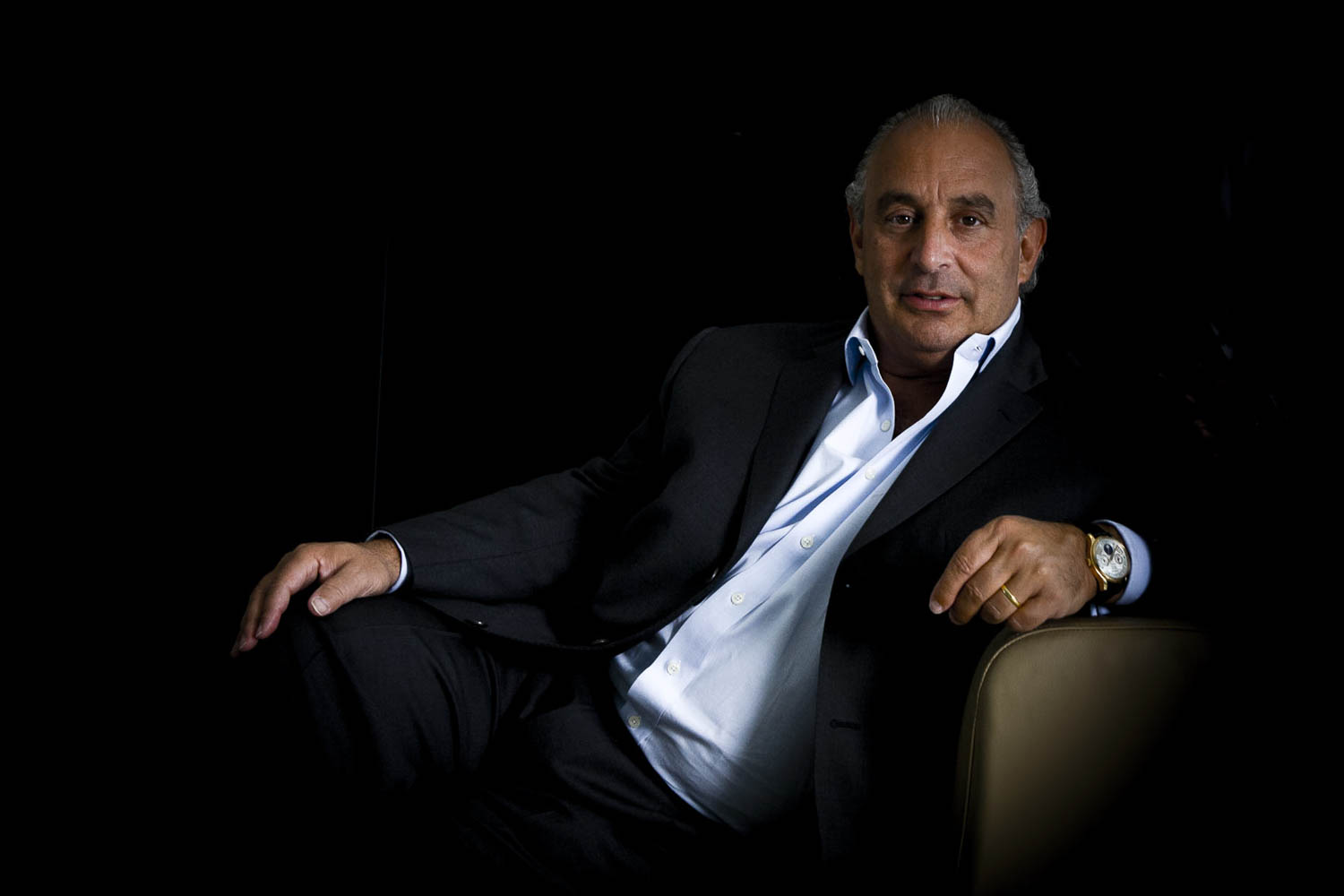 Sir Philip Green, businessman